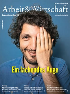 Arbeit & Wirtschaft Ausgabe August 2018