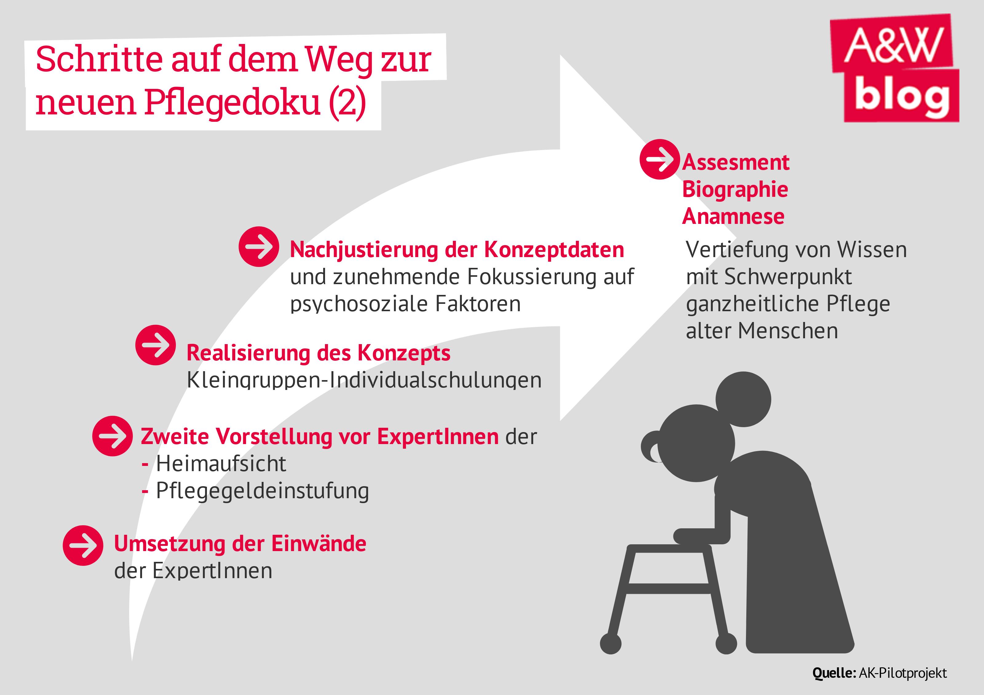 Schritte auf dem Weg zur neuen Pflegedoku (2)