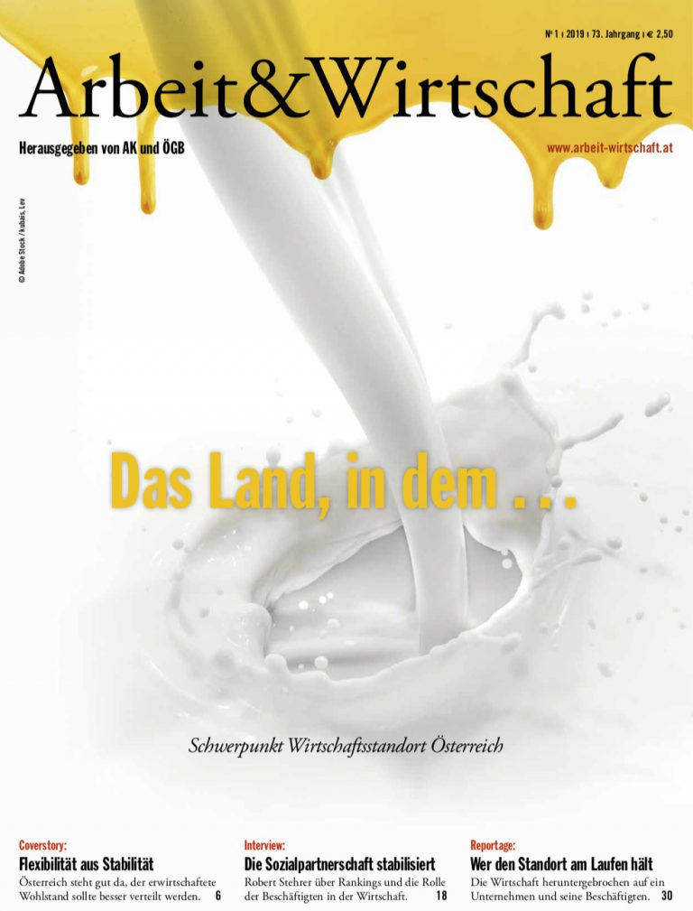 Arbeit & Wirtschaft Ausgabe Februar 2019