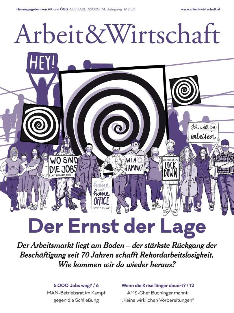 Arbeit & Wirtschaft Ausgabe November 2020